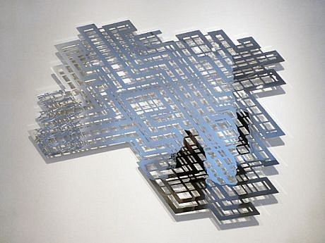 LINDA FLEMING, RICOCHET Ed. 3 chromed steel