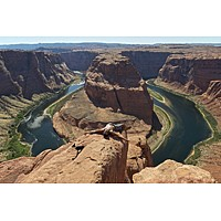 CHUCK FORSMAN, MARKERS: On the Colorado River Near Page, Arizona