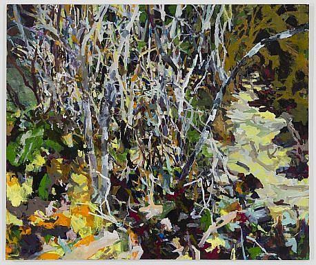 ALLISON GILDERSLEEVE, TANGLE oil on canvas