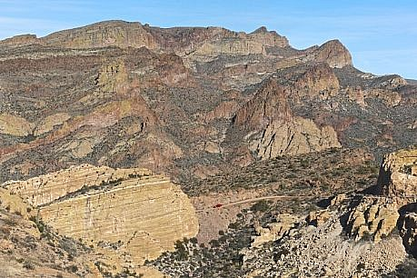 CHUCK FORSMAN, MARKERS: Apache Trail, Arizona inkjet print