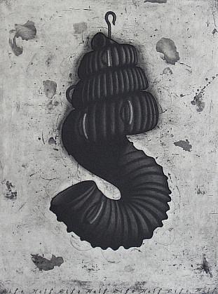 RON FUNDINGSLAND, HALF LIFE aquatint and etching