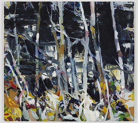 ALLISON GILDERSLEEVE, FIRST FROST oil on canvas