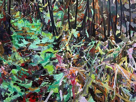 ALLISON GILDERSLEEVE, LOSE YOUR WAY oil on canvas