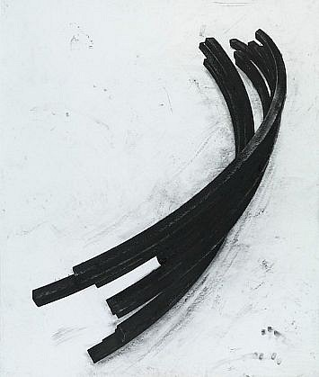 BERNAR VENET, EFFONDREMENT: ARCS 27/50 polymer gravure, photo-etching with wiping