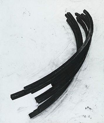 BERNAR VENET, EFFONDREMENT: ARCS 27/50 polymer gravure, photo-etching with wiping