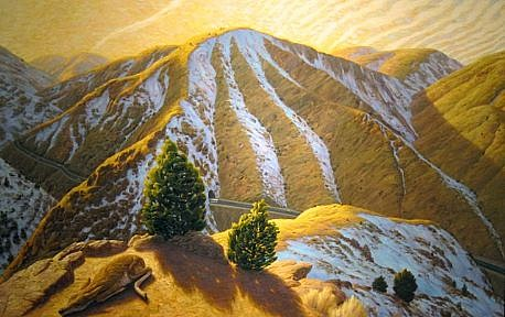 CHUCK FORSMAN, THAW oil on panel