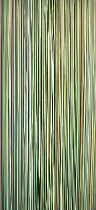 WENDI HARFORD, UNTITLED (DRIP #4) latex acrylic on canvas