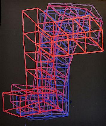 JASON KAROLAK, UNTITLED (P-1305) oil on canvas