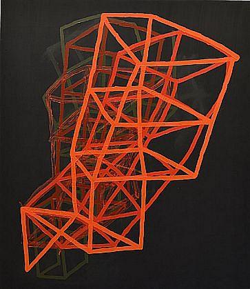 JASON KAROLAK, UNTITLED (P-1304) oil on canvas