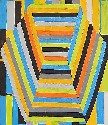JASON KAROLAK, UNTITLED (P-1318) oil on canvas over panel
