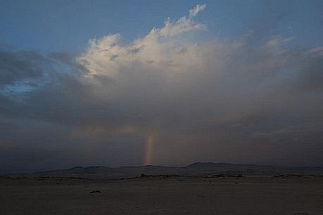 "WILLIAM LAMSON, ""ATACAMA IRRIGATION PROJECT""  BROKEN RAINBOW, THREE YEARS WITHOUT FAIN (NORTH EAST) Ed. 5 ink jet print"