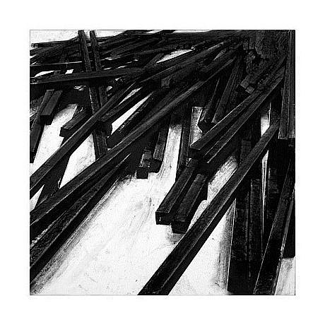 BERNAR VENET, LIGNES DROITES / DÉSORDRE  XIV/XX PRINT B digigraph