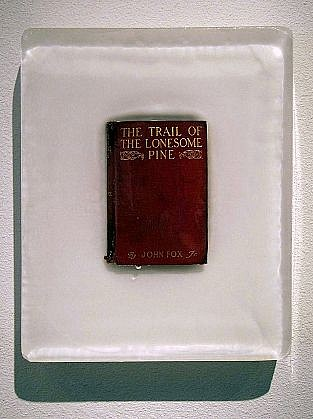 JOHN MCENROE, THE TRAIL OF THE LONESOME PINE book and resin