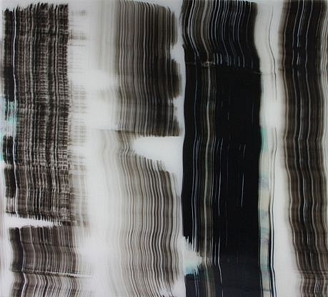 KATE PETLEY, ALONGSIDE resin and mixed media on aluminum