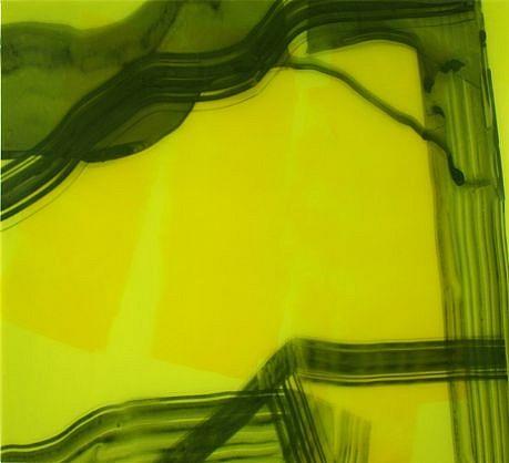 KATE PETLEY, SHARP UP resin and mixed media on aluminum
