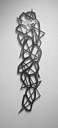 LINDA FLEMING, CASCADE 1/3 chromed steel