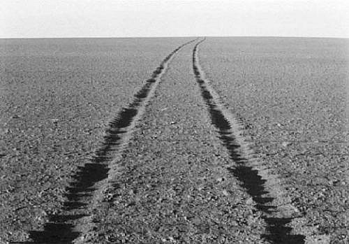 KEVIN O'CONNELL, TIRE TRACKS ED. 5/25 platinum print