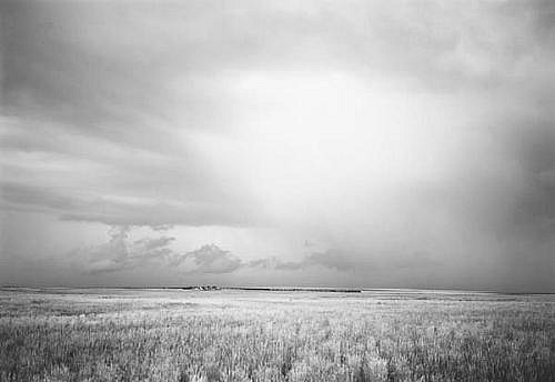 KEVIN O'CONNELL, TRAIN AND STORM CLOUD ED. 4/25 platinum print