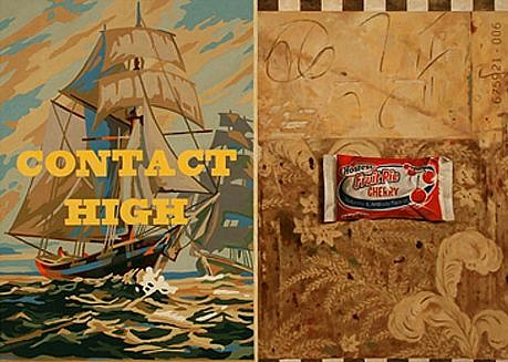 JERRY KUNKEL, Contact High oil on canvas