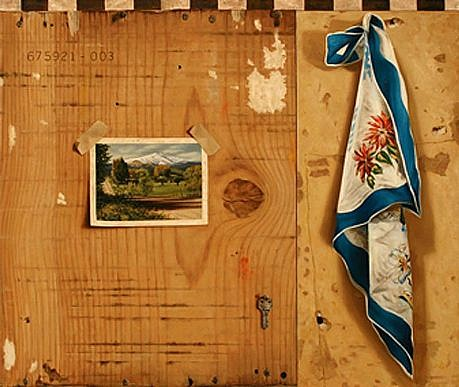 JERRY KUNKEL, Key oil on canvas
