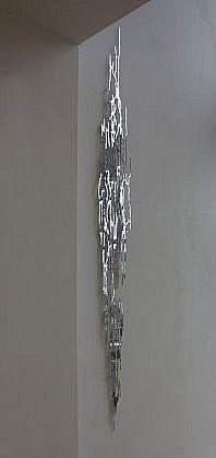 KATY STONE, MIRROR FALL mirrored acrylic