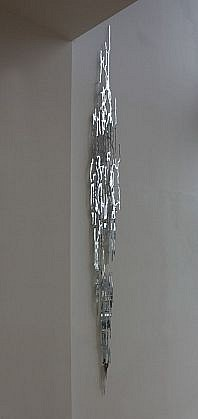 KATY STONE, MIRROR FALL mirrored acrylic