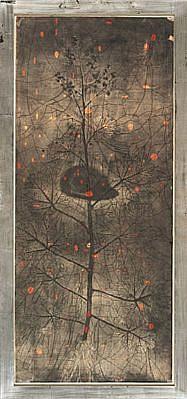 JUDY PFAFF, MONEY TREE 2/20 intaglio