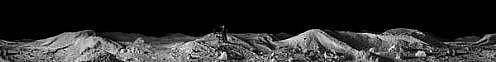 KAHN + SELESNICK, WANDERER 7/10 PANORAMIC SURVEY PHOTOGRAPH B/W quadtone print