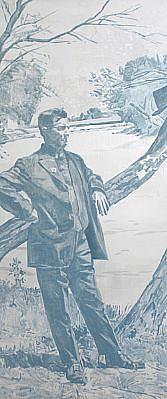 STEPHEN BATURA, citizen acrylic on panel