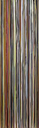 WENDI HARFORD, TESTY latex acrylic on canvas