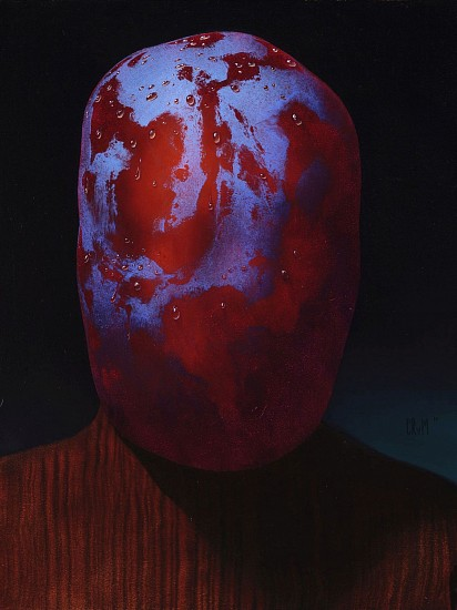 CHRISTIAN REX VAN MINNEN, THIN SKIN oil on panel