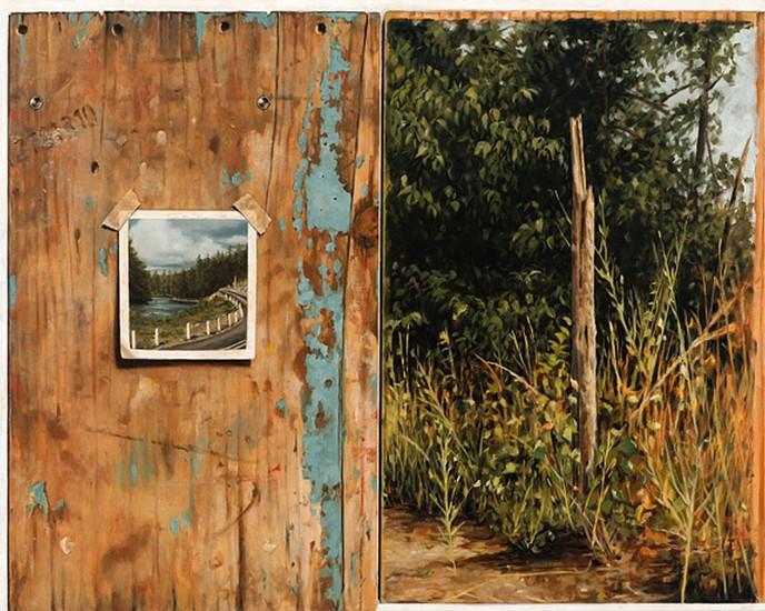 JERRY KUNKEL, RANDOM ACCESS MEMORY #1 oil on canvas