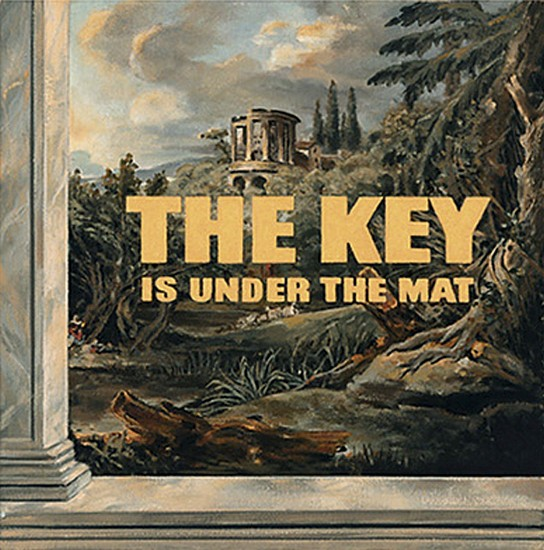 JERRY KUNKEL, THE KEY IS UNDER THE MAT oil on canvas