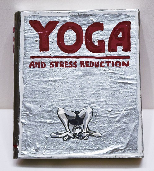 JEAN LOWE, YOGA  AND STRESS REDUCTION enamel on papier mache