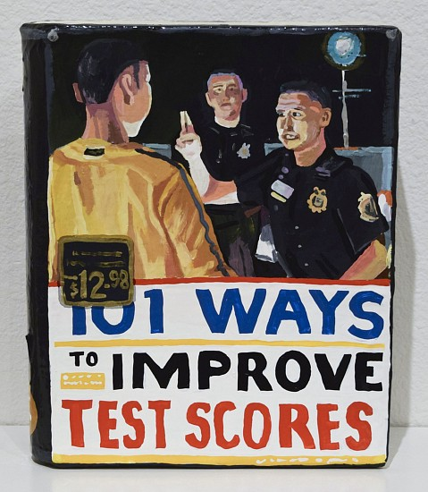 JEAN LOWE, 101 WAYS TO IMPROVE TEST SCORES enamel on papier mache