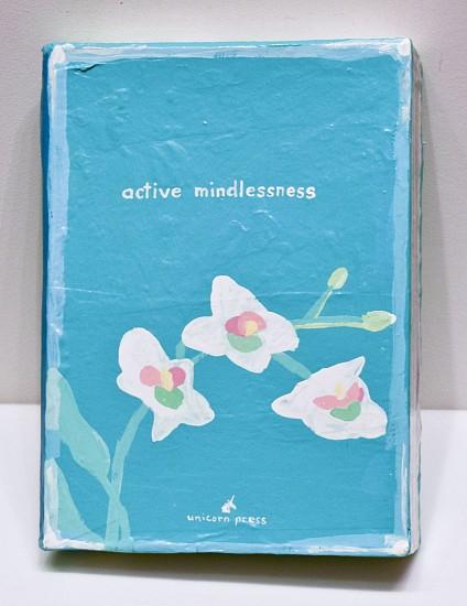 JEAN LOWE, ACTIVE MINDFULNESS enamel on papier mache