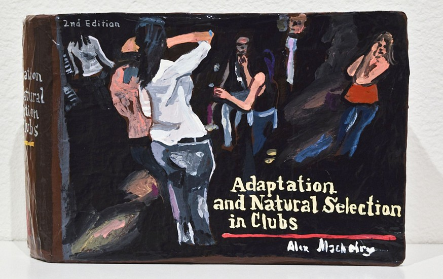 JEAN LOWE, ADAPTATION AND NATURAL SELECTION IN CLUBS enamel on papier mache