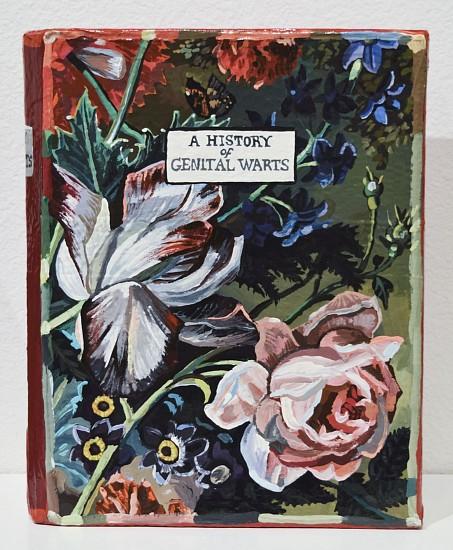 JEAN LOWE, A HISTORY OF GENITAL WARTS enamel on papier mache
