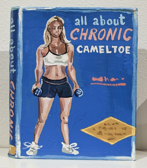 JEAN LOWE, ALL ABOUT CHRONIC CAMEL TOE enamel on papier mache