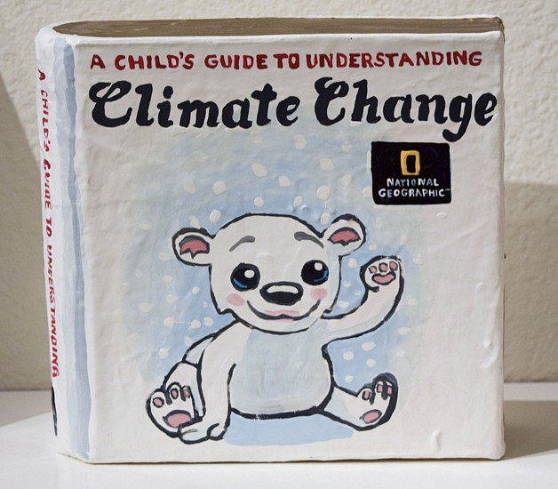 JEAN LOWE, A CHILD'S GUIDE TO UNDERSTANDING CLIMATE CHANGE enamel on papier mache