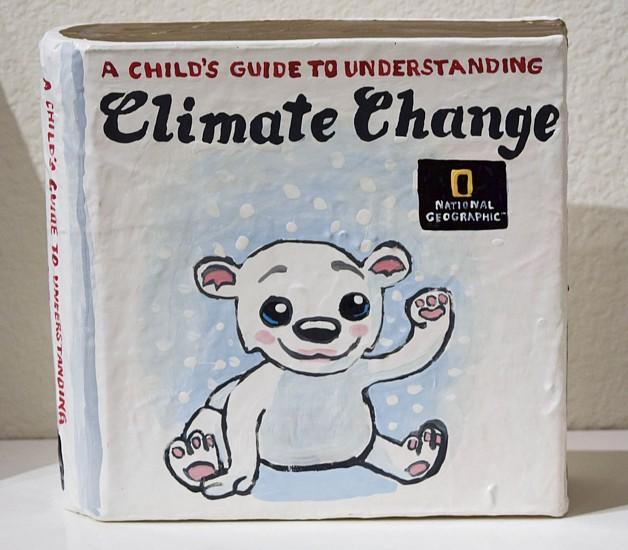 JEAN LOWE, A CHILD'S GUIDE TO UNDERSTANDING CLIMATE CHANGE enamel on papier mache