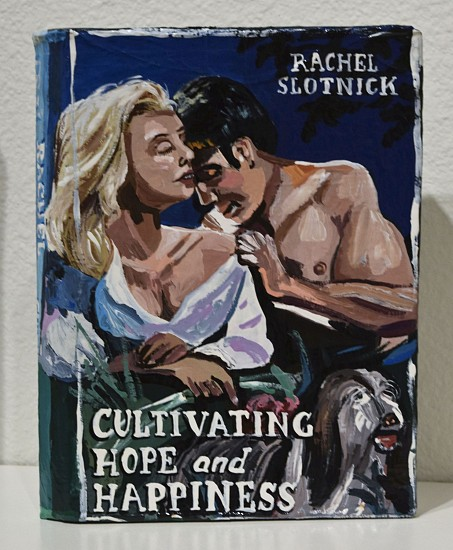 JEAN LOWE, CULTIVATING HOPE AND HAPPINESS enamel on papier mache
