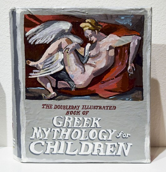 JEAN LOWE, THE DOUBLEDAY ILLUSTRATED BOOK OF GREEK MYTHOLOGY FOR CHILDREN enamel on papier mache