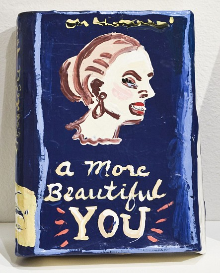 JEAN LOWE, A MORE BEAUTIFUL YOU enamel on papier mache
