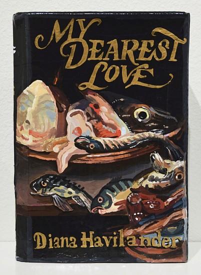 JEAN LOWE, MY DEAREST LOVE enamel on papier mache