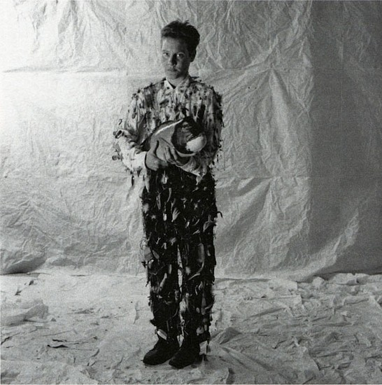 ANN HAMILTON, body object #18 4/15 silver print