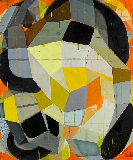 DEBORAH ZLOTSKY, BY HOOK OR CROOK oil on canvas