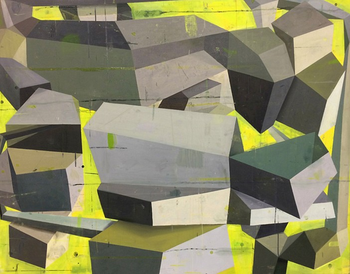 DEBORAH ZLOTSKY, WAS AND WAS NOT oil on canvas