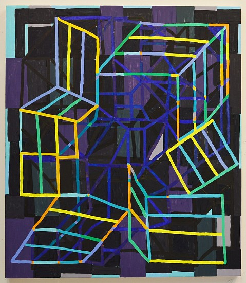 JASON KAROLAK, UNTITLED (P-1424) oil on linen
