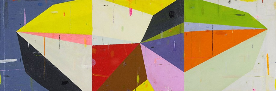 DEBORAH ZLOTSKY, EVERYTHING WHICH IS YES oil on canvas